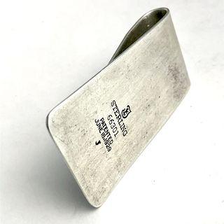 Sterling Silver Money Clip - Towle 1929 Tray design