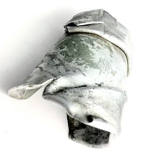 Me109  Aircraft Wreckage Cuff Bracelet - WWII Aluminum