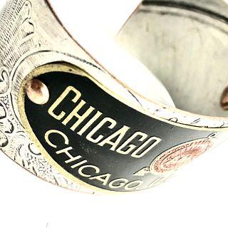 Chicago Electric Cuff Bracelet