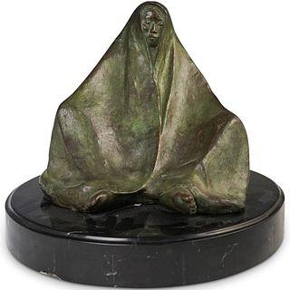 F. Zuniga (Mexican,1912-1998) Bronze Sculpture
