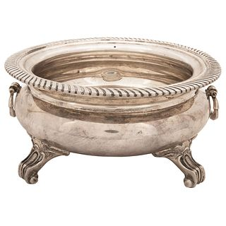 "SILVER CIRCULAR CENTERPIECE TANE MEXICO, 20TH CENTURY Weight: 1033 g 8.2"" (21 cm) in diameter"