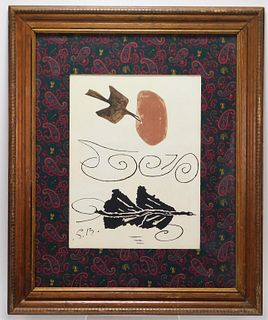 Georges Braque Abstract Lithograph