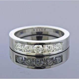 14k White Gold 0.94ctw Diamond Ring