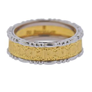 Buccellati Prestigio 18k Gold Wedding Band Ring