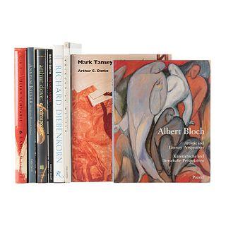 Libros sobre Pintura Contemporánea. Richard Diebenkorn / C.V.J. Nicknames of Maitre D'S & Other Excerpts from Life... Piezas: 8.
