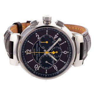 A Vuitton Tambour Chronographe Automatique Watch
