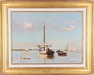 Frederick William Kost (1861-1923) American, O/C