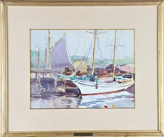 Alice Judson (1876-1948) American, Watercolor