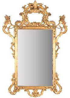 Ornate Gilded Frame w Mirror