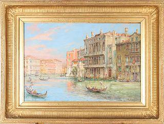 Julius Curter (1886 - 1963) Germany, Oil on Panel