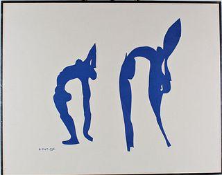 Henri Matisse Lithograph 1950's