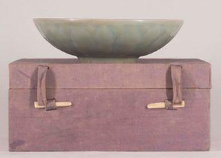 Longquan Celadon 'Lotus' Bowl