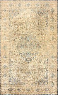 ANTIQUE PERSIAN KERMAN RUG. 17 ft x 10 ft 6 in (5.18 m x 3.2 m)
