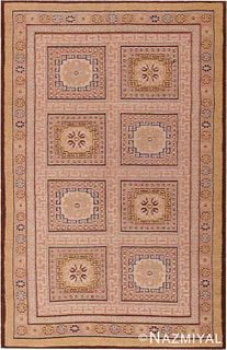 MODERN ROMANIAN RUG. 6 ft 8 in x 4 ft 3 in (2.03 m x 1.3 m).