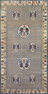 ANTIQUE CHINESE RUG. 19 ft x 9 ft 9 in (5.79 m x 2.97 m)