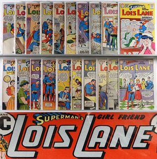 92PC DC Comics Lois Lane #18-#135 Group