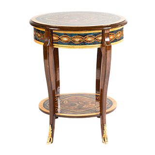 Louis XV Style Inlaid Stand