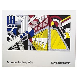 """Roy Lichtenstein. """"Museum Ludwig Koln,"""" offset"""