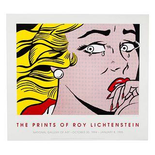 """Roy Lichtenstein. """"Crying Girl,"""" serigraph"""