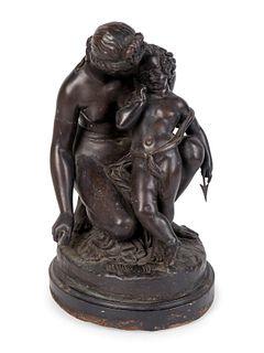 Jean Jacques Pradier (Swiss, 1790-1852) Venus et l'amour