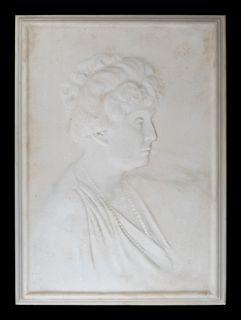 Elie Nadelman (American, 1882-1946) Portrait of a Woman
