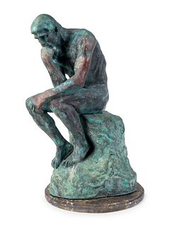 After Auguste Rodin(French, 1840-1917)The Thinker