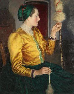 OSZKAR GLATZ (HUNGARIAN, 1872-1958).