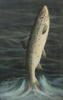 WILLIAM GILLETTE (CANADIAN-AMERICAN, 1864-1937).