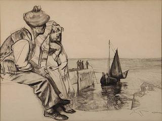 SEAN KEATING (IRISH, 1889-1977).