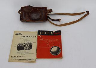 Leica Camera In Case Serial # 318117