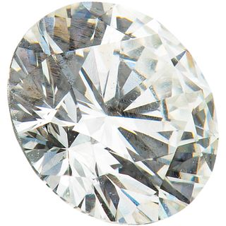 GIA CERTIFIED DIAMOND, UNMOUNTED brilliant cut ~0.47 ct Clarity: SI2 Color: F