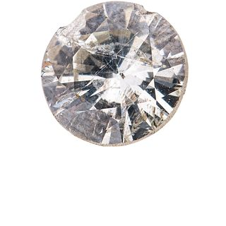 UNMOUNTED DIAMOND brilliant cut ~0.70 ct (chipped) Clarity: I3 Color: M