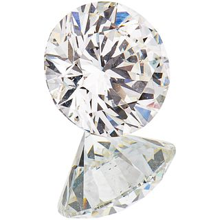 GIA CERTIFIED DIAMOND, UNMOUNTED brilliant cut ~0.81 ct Clarity: SI2 Color: J