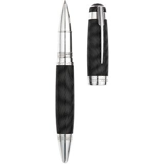 ROLLERBALL MONTBLANC LIMITED EDITION ALFRED HITCHCOCK IN LACQUER AND .925 SILVER