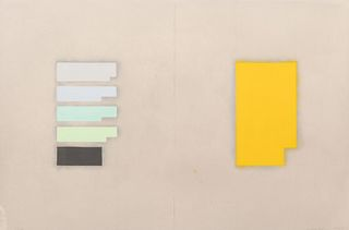 Suzanne Caporael(American, b. 1949) Cobalt Yellow: K, N, O, H, Co (from the Elements of Pigment series), 1999