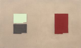 Suzanne Caporael(American, b. 1949) Red Lead: O, Pb (from the Elements of Pigment series), 1999