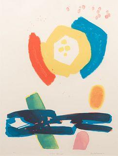 Jacob Kainen (American, 1909-2001) Color Guard, 1973