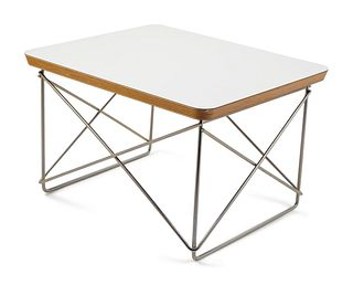 Charles and Ray Eames (American, 1907-1978 | American, 1912- 1988) LTR table, by Herman Miller