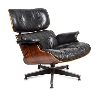 Charles and Ray Eames (American, 1907-1978 | American, 1912-1988) Lounge Chair, model 670,Herman Miller, USA