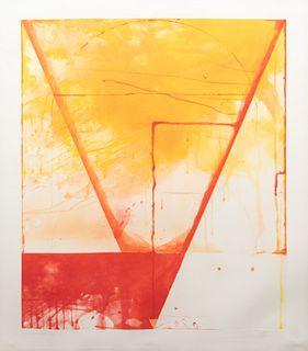 Shoichi Ida (Japanese, 1941-2006) Descended Triangle - Triangle, 1987