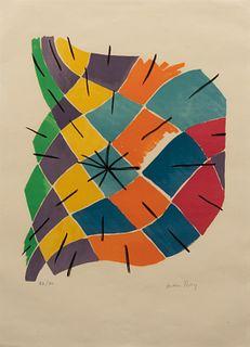 Man Ray (American, 1890-1976) Vitrail,1968