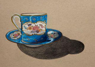 SARAH DOLAN '09, Blue Teacup