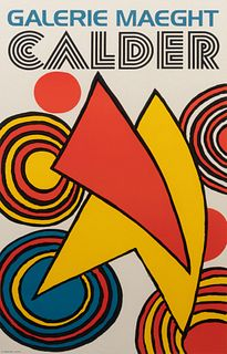 Alexander Calder (American, 1898-1976) Galerie Maeght Exhibition Poster