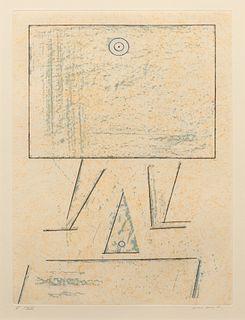 Max Ernst (German, 1891-1976) A nouveau loplop,1975
