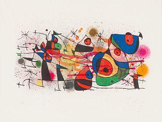 Joan Miró  Céramiques, from Céramiques de Miró et Artigas (Mourlot 928)