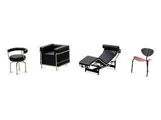 Vitra 21st Century Collection of Four Miniatures, c. 2000