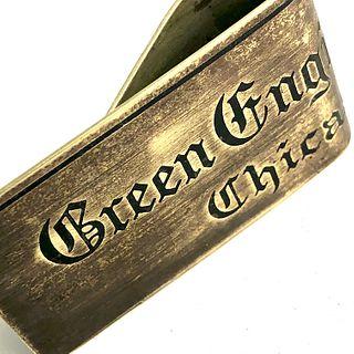 Green Engineering Money Clip - Chicago Brass