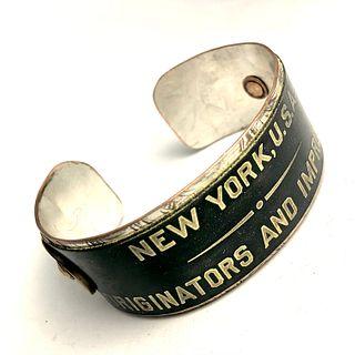 New York Cuff Bracelet