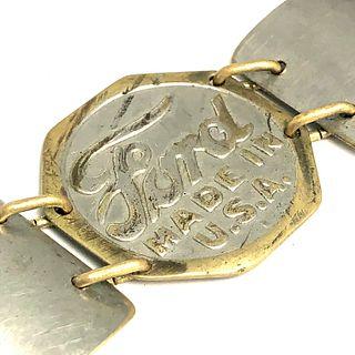 Ford Model-T Hubcap Bracelet