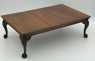 Very Nice Miniature Chippendale Mahogany Dining Table